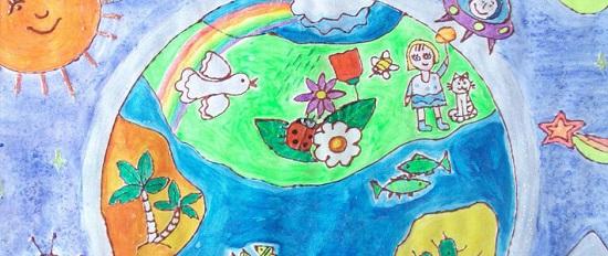 Детский рисунок по сбору макулатуры мукулатура макулатура правильно