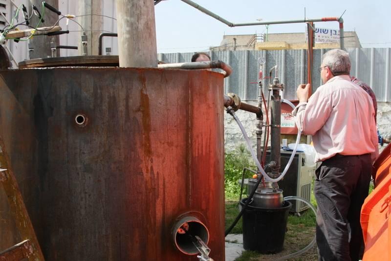 Бензин из отработанного масла своими руками 44