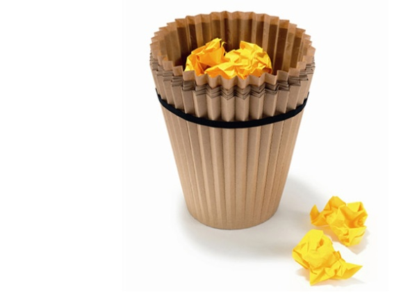 Как можно сделать мусорное ведро своими руками