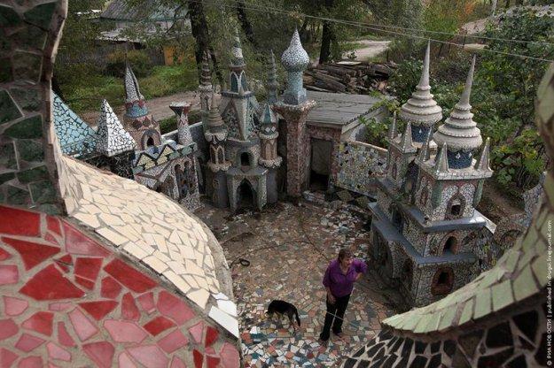 Сказочные замки своими руками